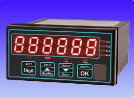 Panel Mounted Display Units support load cell products.