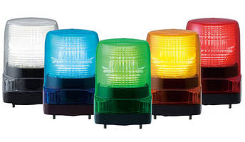 Energy Efficient LED Warning Lights suit AC/DC applications.
