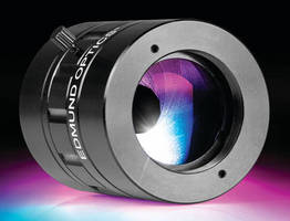 C-Mount Achromatic Lens Pairs feature integrated iris.