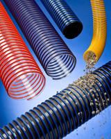 Polyurethane Vacuum Hose resists abrasion and puncture.