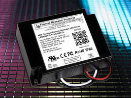 Constant-Current LED Drivers have line voltage dimming.