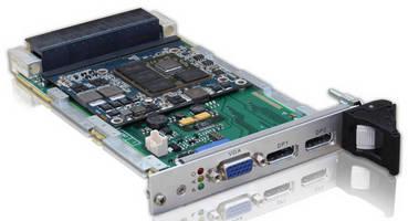 VPX Graphics Card serves avionics, military applications.