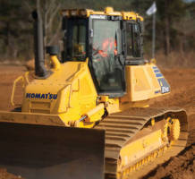 Intelligent Machine Control Dozer has automatic blade control.
