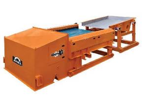 Eddy Current Separator features eccentric rotor design.