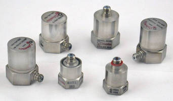 Piezoelectric Accelerometers are suited for vibration/shock work.
