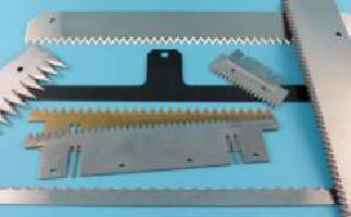 Serrated Straight Blades cut through variety of packaging.