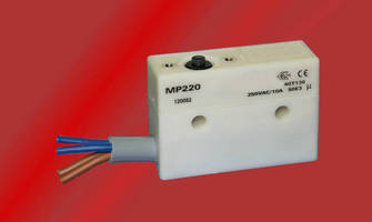 Industrial Double Break Electrical Switch is IP67/68 sealed.