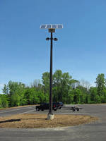 ODNR Delaware Wildlife Solar LED Parking Lot Lights