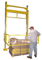 Mezzanine Safety Gate fits into tight spaces.