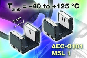 SMD Transmissive Optical Sensors operate from -40 to +125