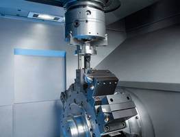 Vertical Turning Machine features single spindle design.