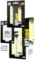 Tamper Alert Package secures prepaid cards and gift cards.