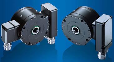 Heavy-Duty Encoder supports 2,200 m signal transmission.