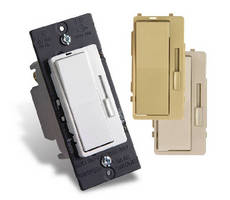 Universal Dimmer eliminates lamp flickering.