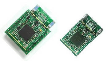 Embedded Wi-Fi Module features serial and SPI interfaces.
