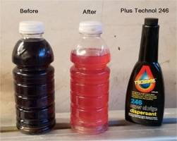 Cleaning Chemical dissolves bio-film in diesel fuel tanks.