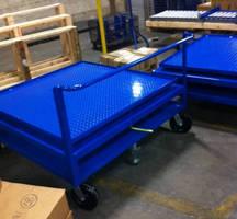 Custom Carousel Cart offers versatile alternative to fork trucks.