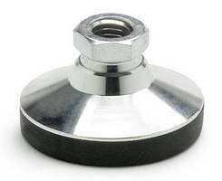 Steel Base Leveling Mounts bear high static loads.