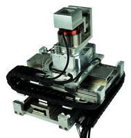 Four-Axis Gantry has vacuum-compatible design.