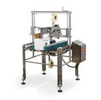 Top and Bottom Case Sealer has niche-free, sanitary design.