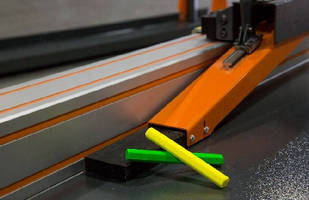 Automatic Saw offers accurate crayon marking.