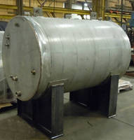 Pressure Vessel - Holding Tank - Manufactured by BEPeterson