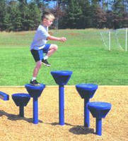 Playground Parts suit several age ranges and skill levels.