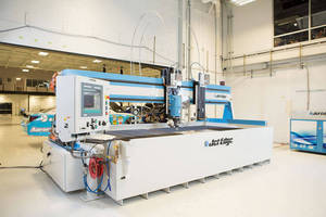 Michael Waltrip Racing Installs Second Jet Edge Waterjet Cutting Machine