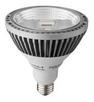 LED Lamp produces 2,000 lm and minimal glare.