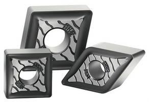 Coated Inserts increase cast iron, steel machining productivity.