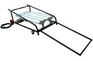 Fluorescent Light Cart operates in hazardous locations.