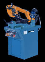 Utility Band Saw cuts round material up to 8.5 in. diameter.