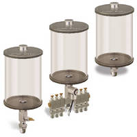 Industrial Fluid Reservoirs offer maximum fluid visibility.