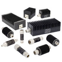 RF Coaxial Attenuators operate up to 4 GHz.