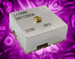 Dielectric Resonator VCO targets test and measurement market.