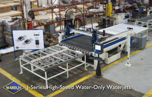 Waterjet Cutting Systems deliver high-speed operation.