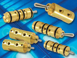 Toggle and Stem Valves have bright dipped brass construction.