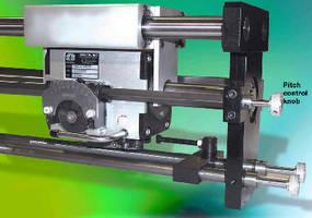Linear Drives offer fine pitch adjustment option.