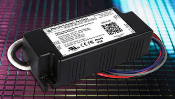 Dimming 20 W LED Drivers are rated for outdoor applications.
