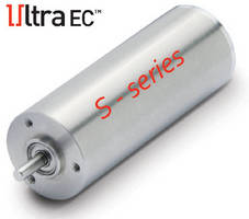 Brushless Slotless Motor meets stringent medical requirements.