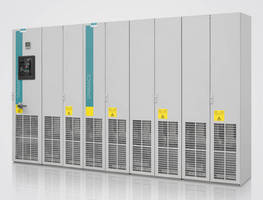 Siemens Introduces North American Version of Sinamics S120 Cabinet Module Drives