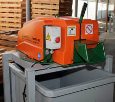 Scrap Chopper facilitates recycling of plastic and PET banding.
