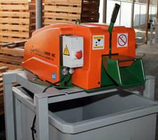 Scrap Chopper facilitates recycling of plastic and PET banding.