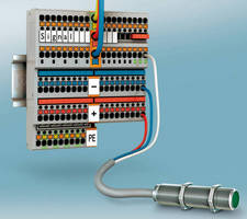 Push-In Terminal Blocks simplify termination of ferruled wire.