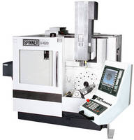 Entry-Level 5-Axis Machining Centre, Teaching Machines and Other Innovations from Spinner