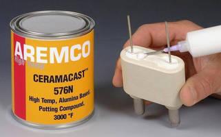 High-Temperature Compound encapsulates electrical components.