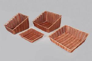 Washable Synthetic Baskets optimize sanitation.