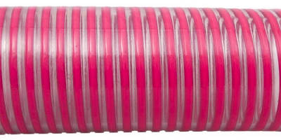 Flexible PVC Hose suits liquid transfer applications.
