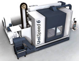 Large CNC Machining Center also offers turning functionality.