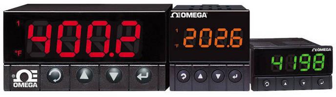 Temperature/Process Meters offer alarms and configurability.